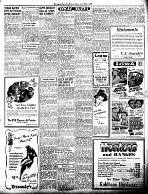 The Algona Upper Des Moines from Algona, Iowa on September 1, 1942 · Page 5