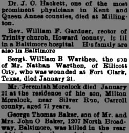 The News from Frederick, Maryland on January 23, 1903 · Page 3