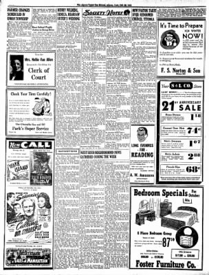 The Algona Upper Des Moines from Algona, Iowa on October 20, 1942 · Page 4
