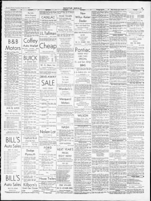 the decatur herald from decatur illinois on october 31 1953 page 15 Ford Police Cars History