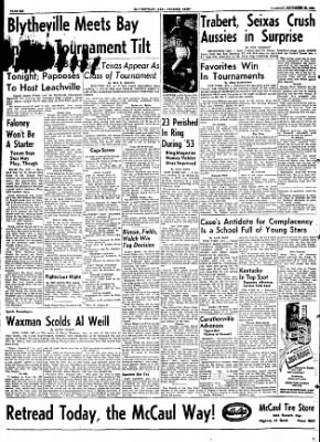 The Courier News from Blytheville, Arkansas on December 29, 1953 · Page 6