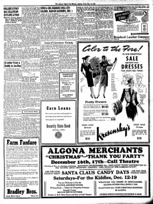 The Algona Upper Des Moines from Algona, Iowa on December 8, 1942 · Page 2