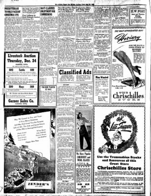 The Algona Upper Des Moines from Algona, Iowa on December 22, 1942 · Page 8
