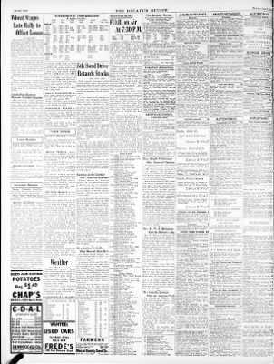 The Decatur Daily Review From Decatur Illinois On June 5 1944