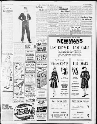The Decatur Daily Review From Decatur Illinois On February 26 1942