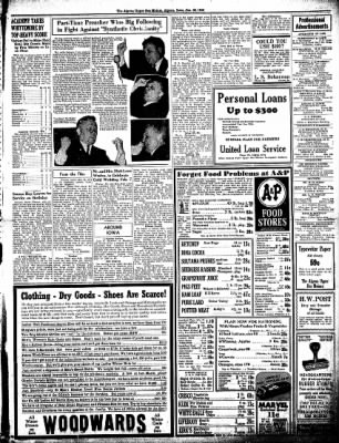 The Algona Upper Des Moines from Algona, Iowa on January 28, 1943 · Page 9
