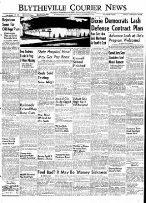 The Courier News from Blytheville, Arkansas on December 30, 1953 · Page 1