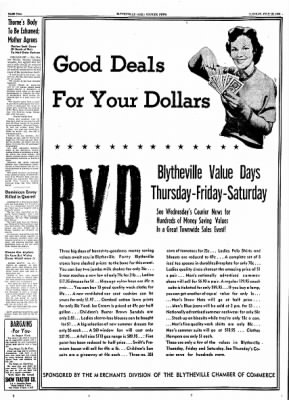 The Courier News from Blytheville, Arkansas on July 13, 1954 · Page 1