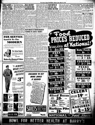 The Algona Upper Des Moines from Algona, Iowa on March 4, 1943 · Page 7
