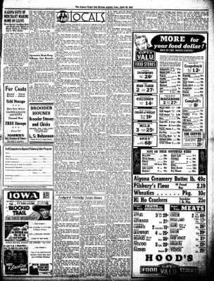 The Algona Upper Des Moines from Algona, Iowa on April 29, 1943 · Page 5
