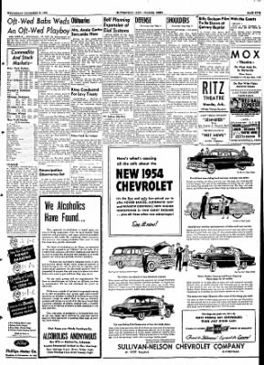 The Courier News from Blytheville, Arkansas on December 30, 1953 · Page 5