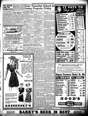 The Algona Upper Des Moines from Algona, Iowa on May 27, 1943 · Page 3