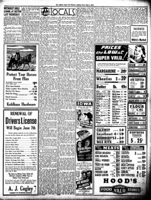The Algona Upper Des Moines from Algona, Iowa on June 3, 1943 · Page 5