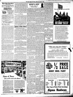 The Algona Upper Des Moines from Algona, Iowa on June 24, 1943 · Page 6
