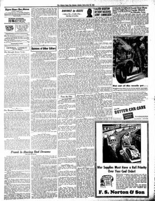 The Algona Upper Des Moines from Algona, Iowa on July 29, 1943 · Page 6