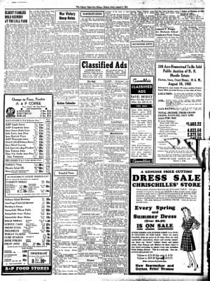The Algona Upper Des Moines from Algona, Iowa on August 5, 1943 · Page 8