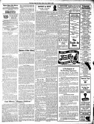 The Algona Upper Des Moines from Algona, Iowa on August 12, 1943 · Page 8