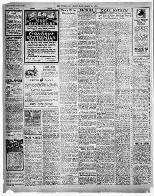Pittsburgh Daily Post from Pittsburgh, Pennsylvania on March 28