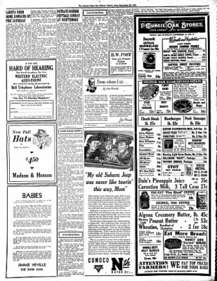 The Algona Upper Des Moines from Algona, Iowa on September 23, 1943 · Page 2