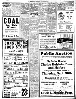 The Algona Upper Des Moines from Algona, Iowa on September 23, 1943 · Page 8