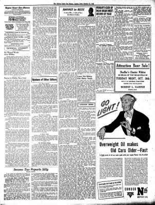 The Algona Upper Des Moines from Algona, Iowa on October 21, 1943 · Page 8