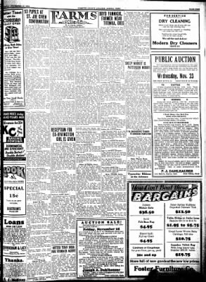 Kossuth County Advance from Algona, Iowa on November 17, 1932 · Page 9