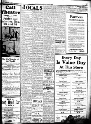 Kossuth County Advance from Algona, Iowa on November 24, 1932 · Page 8