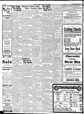 Kossuth County Advance from Algona, Iowa on January 5, 1933 · Page 2