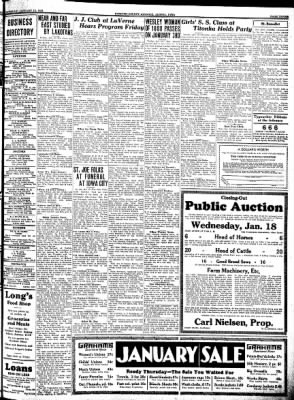 Kossuth County Advance from Algona, Iowa on January 12, 1933 · Page 3