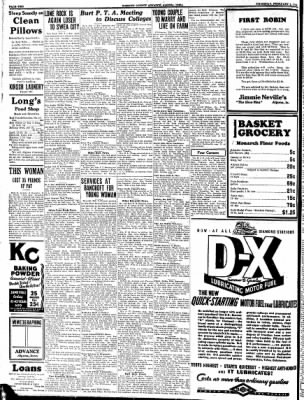 Kossuth County Advance from Algona, Iowa on February 9, 1933 · Page 2