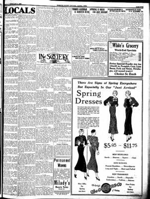 Kossuth County Advance from Algona, Iowa on February 9, 1933 · Page 5