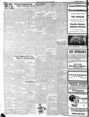Kossuth County Advance from Algona, Iowa on February 16, 1933 · Page 6
