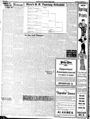 Kossuth County Advance from Algona, Iowa on February 23, 1933 · Page 4
