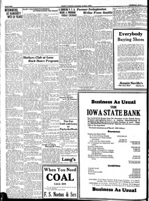 Kossuth County Advance from Algona, Iowa on March 16, 1933 · Page 2