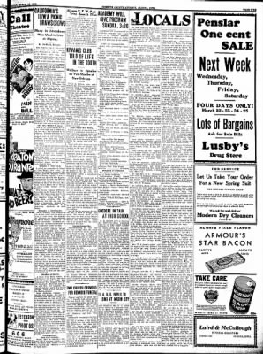 Kossuth County Advance from Algona, Iowa on March 16, 1933 · Page 6