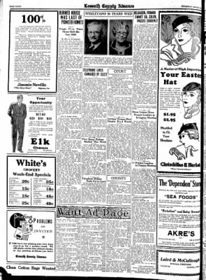 Kossuth County Advance from Algona, Iowa on March 30, 1933 · Page 8