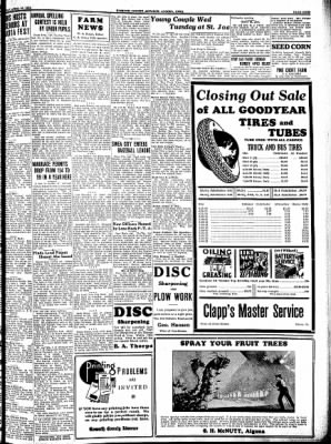 Kossuth County Advance from Algona, Iowa on April 20, 1933 · Page 9