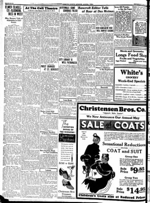 Kossuth County Advance from Algona, Iowa on May 4, 1933 · Page 4