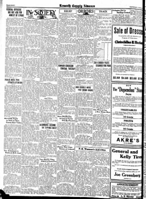 Kossuth County Advance from Algona, Iowa on May 4, 1933 · Page 8