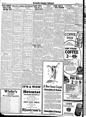 Kossuth County Advance from Algona, Iowa on May 11, 1933 · Page 10