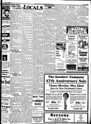 Kossuth County Advance from Algona, Iowa on May 18, 1933 · Page 7