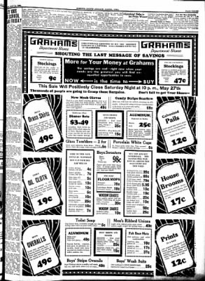 Kossuth County Advance from Algona, Iowa on May 25, 1933 · Page 3