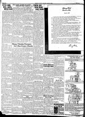 Kossuth County Advance from Algona, Iowa on June 1, 1933 · Page 6