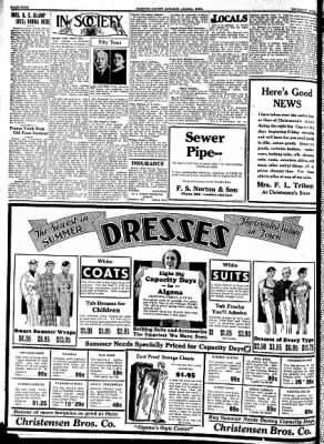 Kossuth County Advance from Algona, Iowa on June 8, 1933 · Page 4