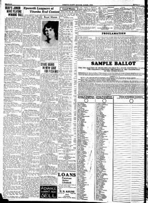 Kossuth County Advance from Algona, Iowa on June 8, 1933 · Page 6
