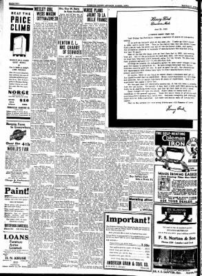 Kossuth County Advance from Algona, Iowa on June 22, 1933 · Page 2