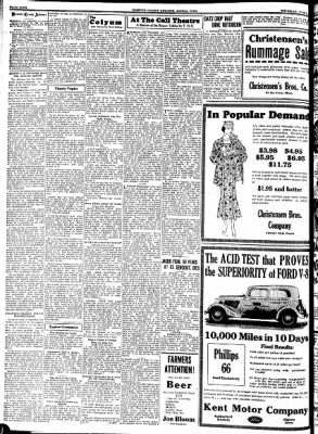 Kossuth County Advance from Algona, Iowa on June 22, 1933 · Page 4