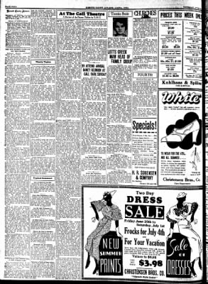 Kossuth County Advance from Algona, Iowa on June 29, 1933 · Page 4