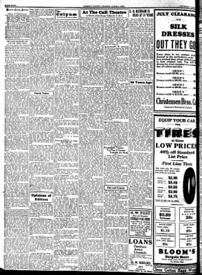 Kossuth County Advance from Algona, Iowa on July 6, 1933 · Page 4