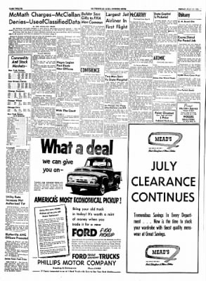 The Courier News from Blytheville, Arkansas on July 16, 1954 · Page 6